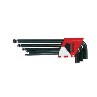 9METRIC TENG BALL HEX KEY WRENCH WITH  HOLDER (1479MM)